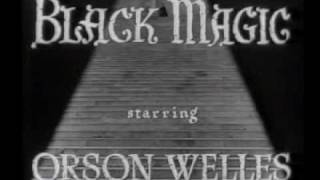 Black Magic 1949 opening credits Sawtell music