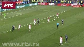 Francuska – Hrvatska 4:1, strelac Kilijan Mbape!