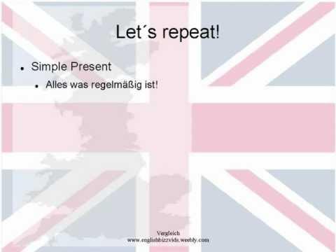 Simple Present und Present Progressive Erklärung in ...