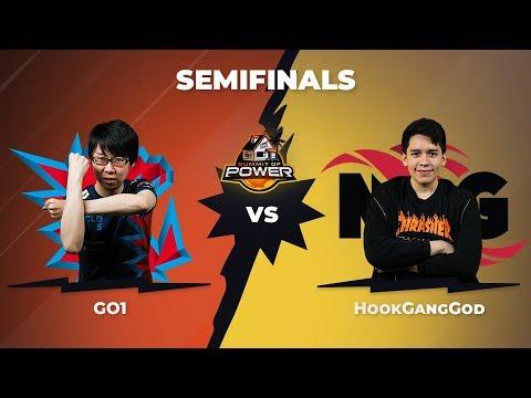 GO1 vs HookGangGod - Semifinals - DBFZ Summit of Power