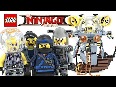LEGO Ninjago Movie Flying Jelly Sub review! 2017 set 70610!