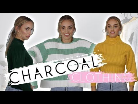 AN OUT OF CONTROL WINTER HAUL // Trying Charcoal Clothing for the first time! thumbnail