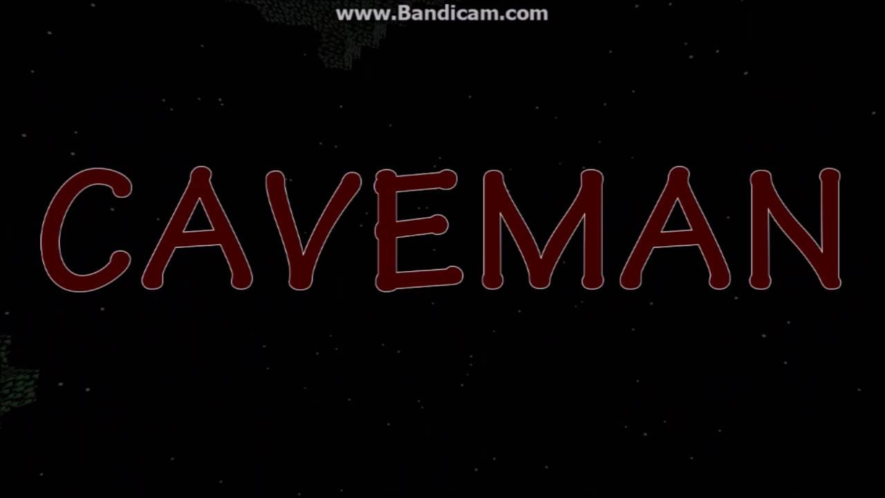 CAVEMAN the movie - - Minecraft Movie Trailer