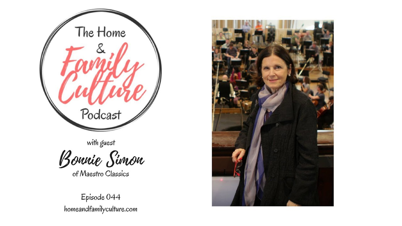 Bonnie Ward Simon featured on the Home & Family Culture Podcast