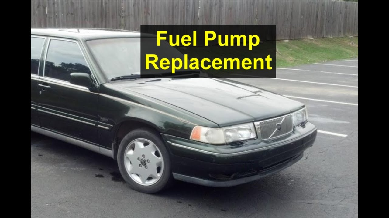 hight resolution of fuel pump removal volvo 960 s90 v90 965 etc votd