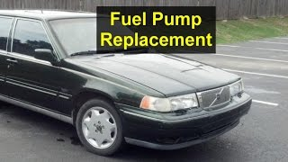 Fuel pump removal, Volvo 960, S90, V90, 965, etc. - VOTD - YouTube | Volvo 960 Fuel Filter |  | YouTube