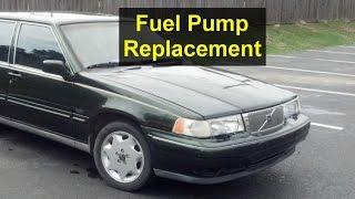 Fuel pump removal, Volvo 960, S90, V90, 965, etc. - VOTD