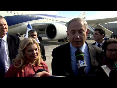 PM Netanyahu Departs for State Visit to the US