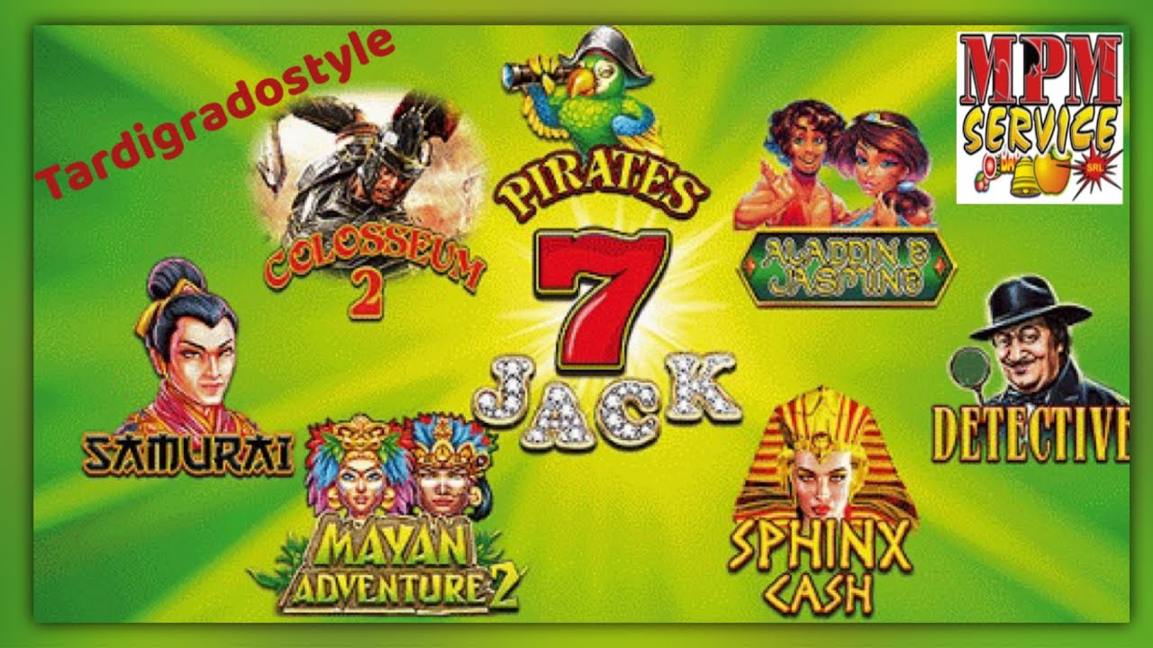 Slot a Moneta - 7 JACK Sphinx Cash