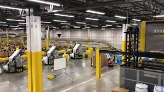 Touring an Amazon Fulfillment Center