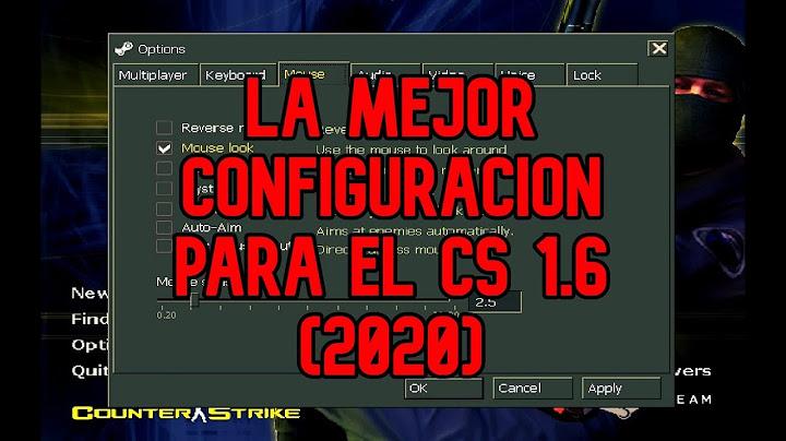 la mejor configuracion para el counter strike 16  mi cfg