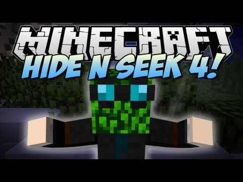 Minecraft | HIDE N SEEK 4! (The LEAF BLOCK Challenge!) | Minigame