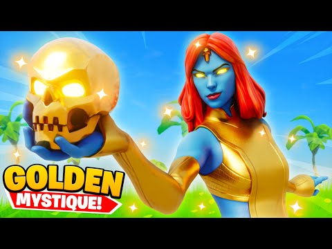 GOLD MYSTIQUE in Fortnite