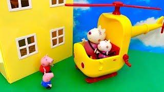 Świnka Peppa i Suzi Owca  Ale super Helikopter  Bajka dla dzieci PO POLSKU