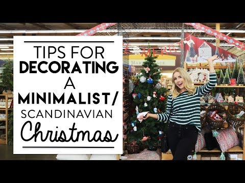 CHRISTMAS DECORATING | Minimalist/Scandinavian CHRISTMAS Design Style