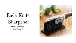 Rada Knife Sharpener // H๐w I sharpen My Knives