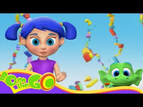 Bo On The GO! - Bo And The Super Stacker | Fun Cartoons For Kids