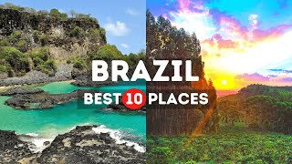 Amazing Places to Visit in Brazil - Travel Video