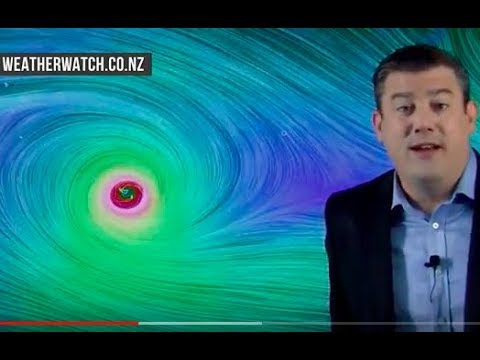 Severe Cyclone Gita aims for Tonga + NZ's outlook to Saturday (12/02/18)