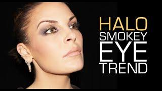 HALO SMOKEY EYE MAKEUP TREND 2014 Thumbnail