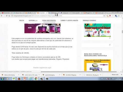 Como crear un blog con blogger desde cero y monetizarlo con paypal y publicidad adsense