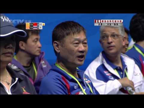2010 Asian Games  Women Team Final Jiang Yanjiao vs Sapsiree TAERATTANACHAI