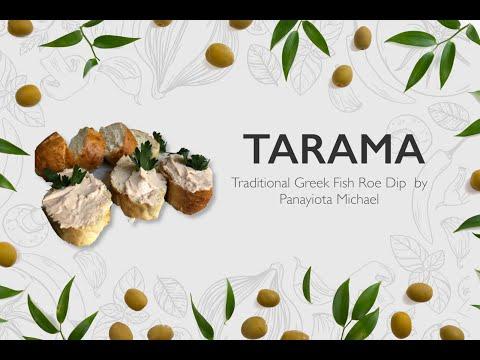 How To Make Taramasalata By Panayiota Michael