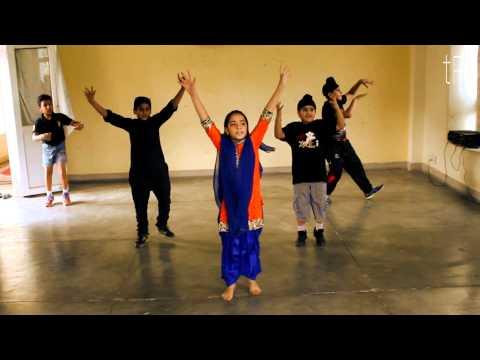 Veervaar-Sardaarji(movie)  Bhangra Basics Small Children