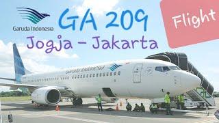 Gambar cover Garuda Indonesia Jogja - Jakarta GA 209 Economy Class Flight Report | DAMRI Airport Bus to Gambir
