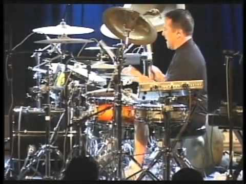 Mark Zonder Drum Clinic selections