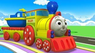 Pequeño Tren de dibujos animados - Fábrica de Juguetes de dibujos animados - dibujos animados para los Niños - los Niños Videos para Niños - dibujos animados de Tren