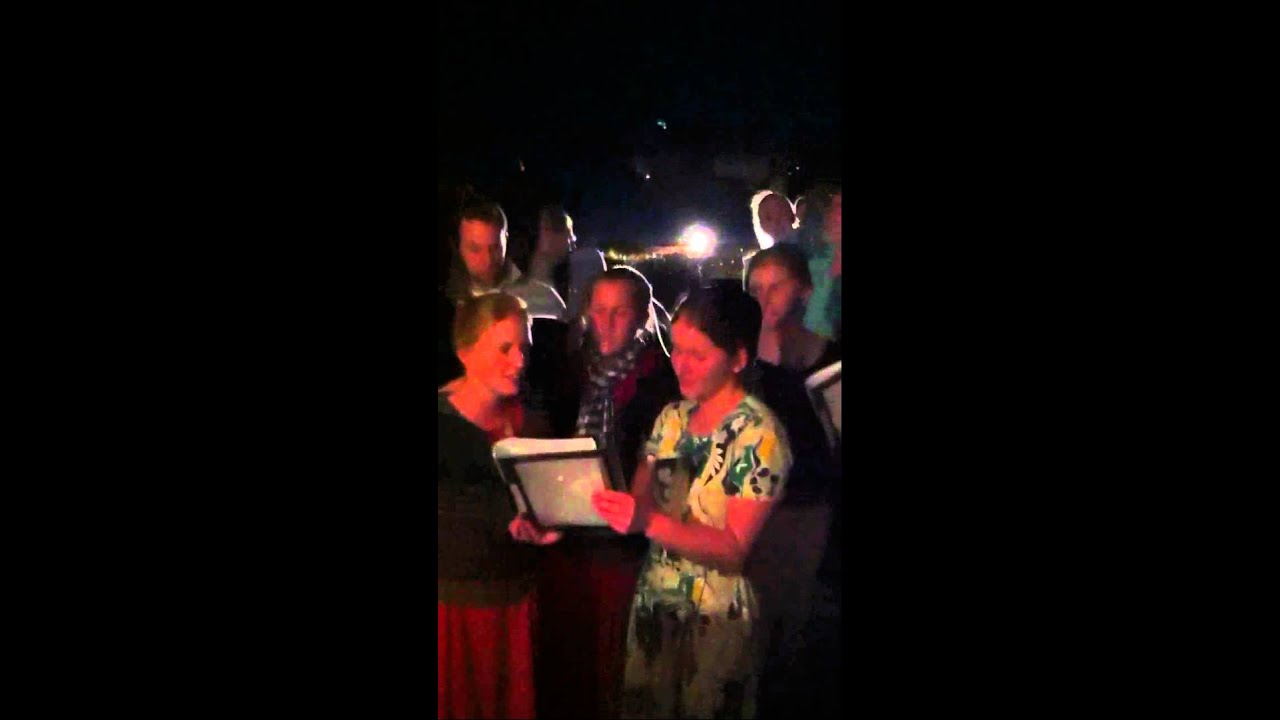 River's Edge Employees Singing