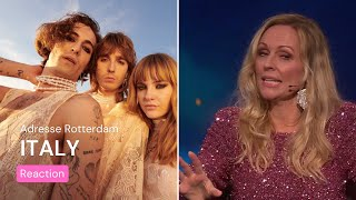 Norwegian TV about Italy's Eurovision song | Måneskin - Zitti E Buoni | Eurovision Song Contest 2021