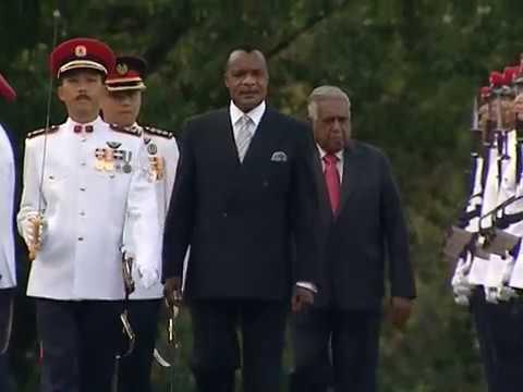 Visite d'Etat du président de la République du Congo Denis SASSOU N'GUESSO à Singapour