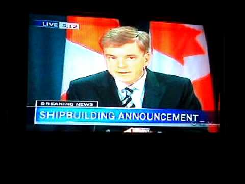 Halifax shipyard wins bid in nova scotia