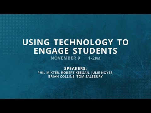 Fall Faculty Forum - Using Technology to Engage Students
