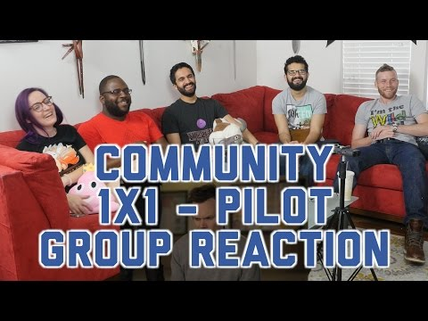 Community - 1x1 Pilot - Group Reaction + Wheel Spin