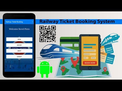 Railway Ticket Booking System Using Qr Code