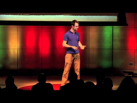 Making manual labor fun and social: Ned Swain at TEDxDirigo