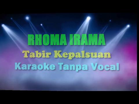 Sampling Karaoke Rhoma Irama - Tabir Kepalsuan dengan Lirik
