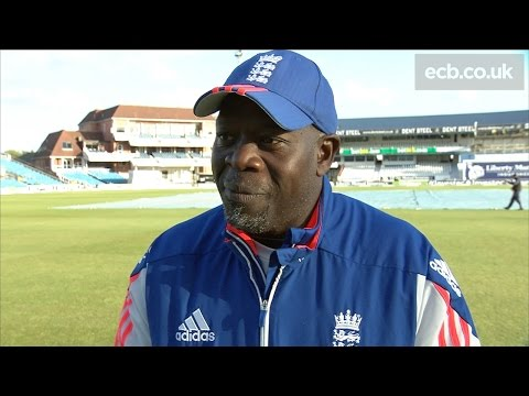 Ottis Gibson reflects on a tough day for England at Headingley