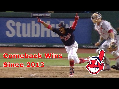 Cleveland Indians | Comeback Wins (Since 2013)