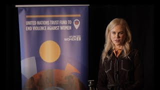 UN Women Goodwill Ambassador Nicole Kidman donates USD500,000 to the UN Trust Fund