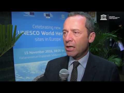 Celebrating New World Heritage Sites, Eric Falt, UNESCO ADG External Relations