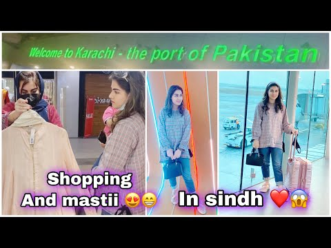 Islamabad to KARACHI - A day in Hyderabad mall 😍