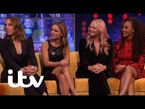 Spice Girls Reveal Which Two Members Weren't in the Original Line Up | The Jonathan Ross Show | ITV