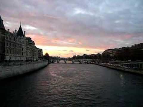 View over Seine from Ile de France, Paris