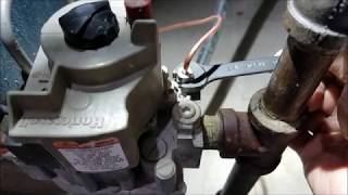 Steam gas Boiler repair: No Heat, Pilot Light goes out and won't stay lit