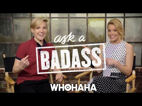 "Hannah Hart on Elizabeth Banks' ""Ask A Badass"""