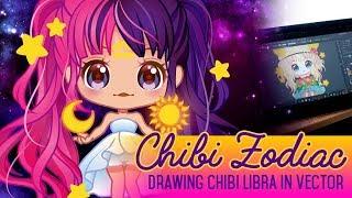 Zodiac Chibis - Libra [ vector art ]